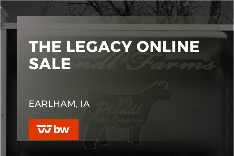 The Legacy Online Sale - Iowa