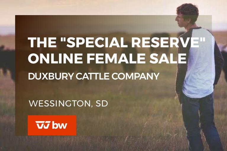 "The ""Special Reserve"" Online Female Sale - South Dakota"