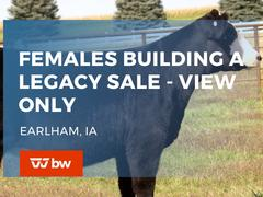 Females Building A Legacy Sale - View Only - Iowa