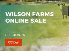 Wilson Farms Online Sale - Iowa