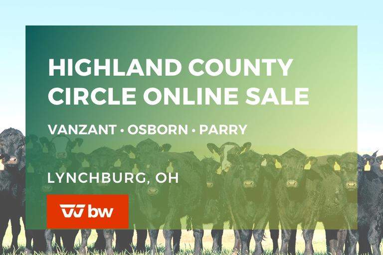 Highland County Circle - VanZant • Osborn • Parry Online Sale - Ohio