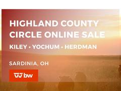 Highland County Circle - Kiley • Yochum • Herdman Online Sale - Ohio