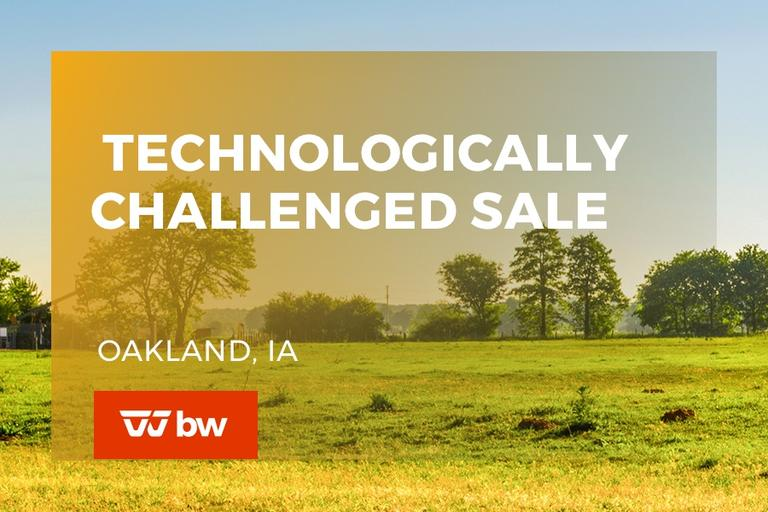 The Technologically Challenged Sale - Iowa