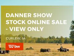 Danner Show Stock Online Sale - View Only - Iowa