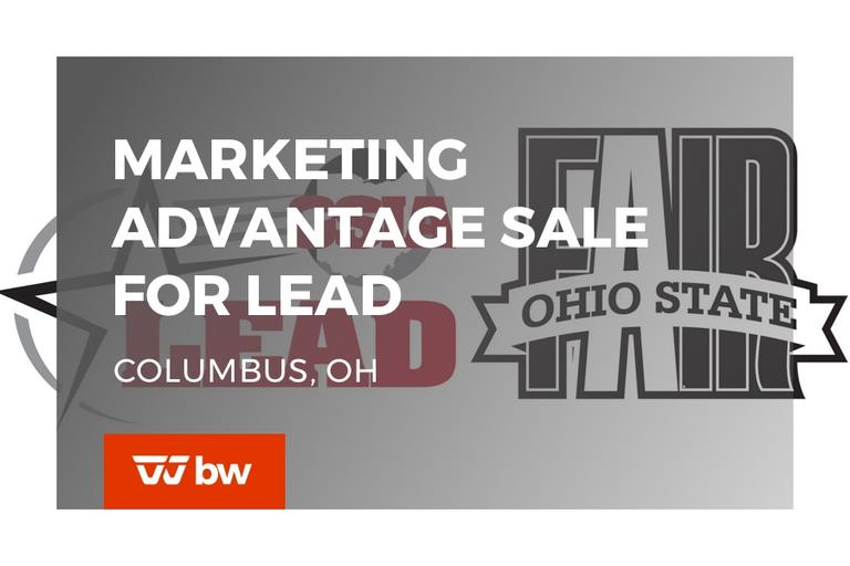 2nd Annual Marketing Advantage Sale for LEAD - OHIO