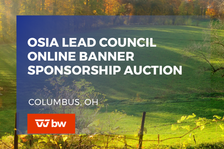 OSIA LEAD Council Online Banner Sponsorship Auction - Ohio
