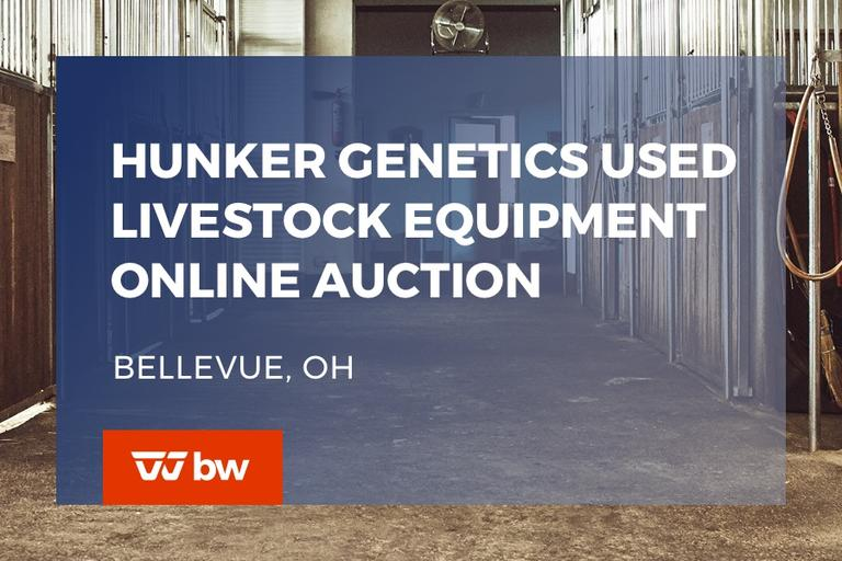 Hunker Genetics Used Livestock Equipment Online Auction