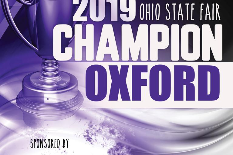 Champion Oxford Banner