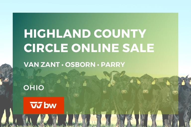 Highland County Circle Online Sale - Van Zant • Osborn • Parry - Ohio