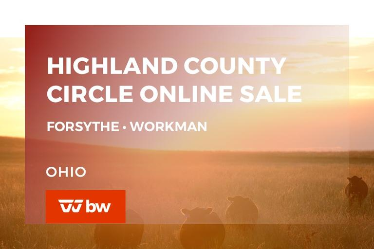 Highland County Circle Online Sale - Forsythe • Workman - Ohio