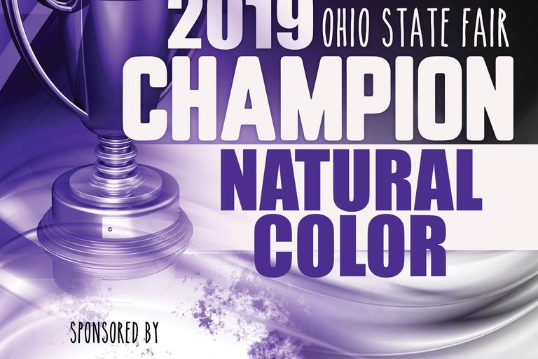 Champion Natural Color Banner