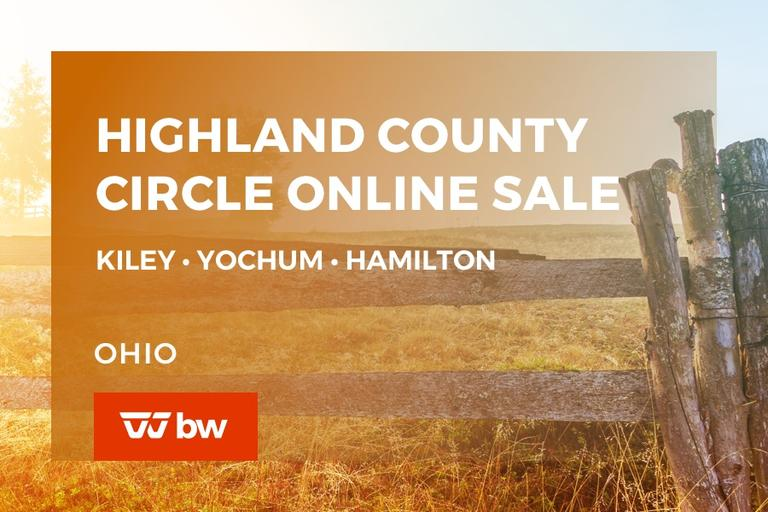 Highland County Circle Online Sale - Kiley • Yochum • Hamilton - Ohio