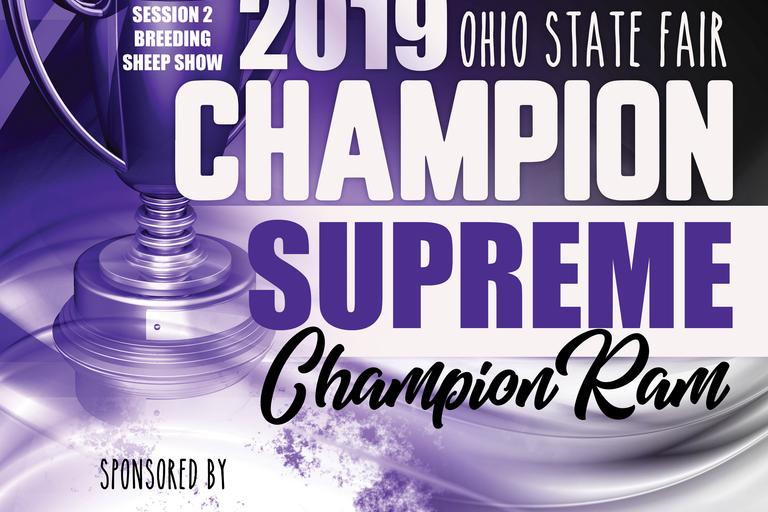 Supreme Champion Ram Banner 1st Session