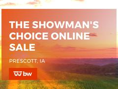 The Showman's Choice Online Sale - Iowa