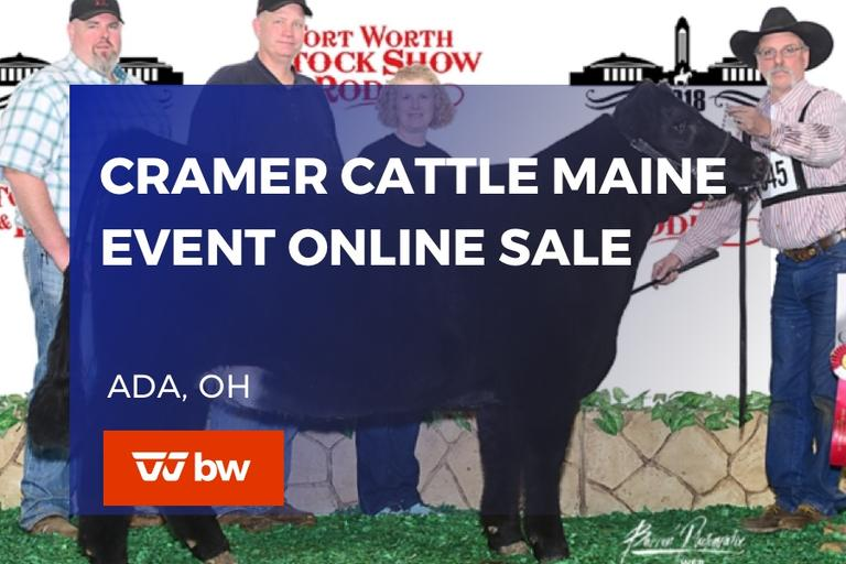 Cramer Cattle Maine Event Online Sale - Ohio