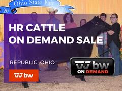 HR Cattle On Demand Only Sale - Ohio