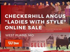 "Checkerhill Angus-""Ladies With Style"" Online Sale -Missouri"