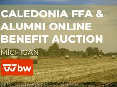 Caledonia FFA & Alumni Online Benefit Auction - Michigan