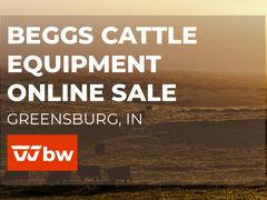 Beggs Cattle Equipment Online Sale - Indiana