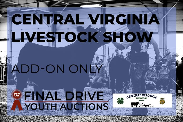 Central Virginia Livestock Show ADD ON Listing