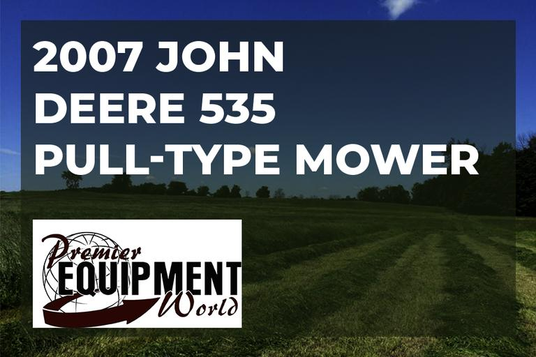 Premier Equipment World - John Deere 535 mower