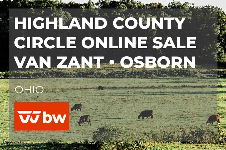 Highland County Circle Online Sale - Van Zant • Osborn - Ohio