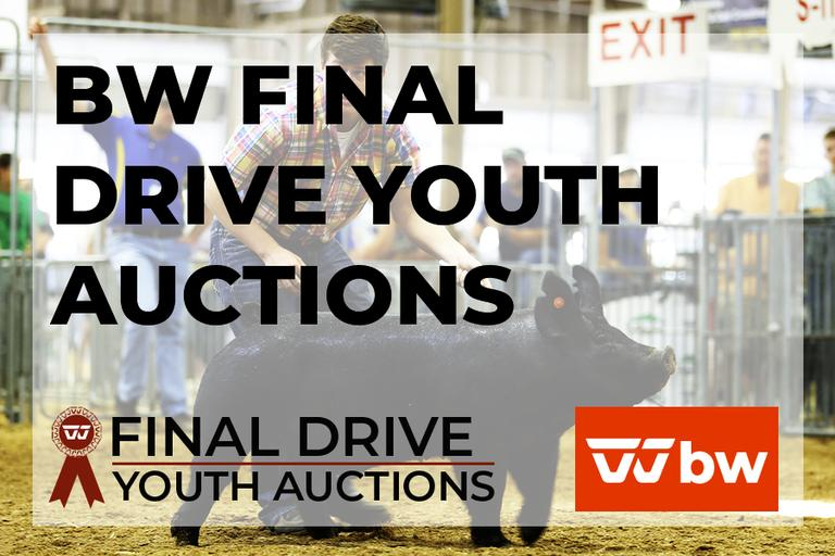 BW Final Drive Youth Auctions