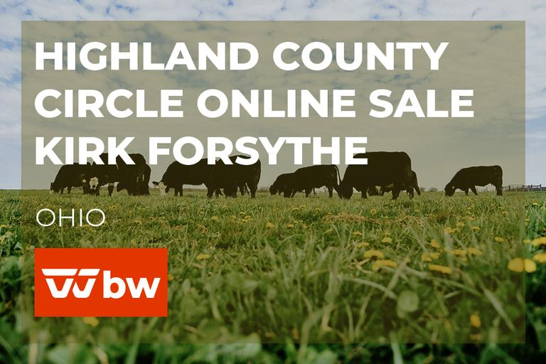 Highland County Circle Online Sale - Kirk Forsythe - Ohio