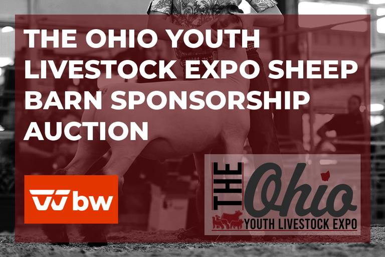The Ohio Youth Livestock Expo Sheep Barn Sponsorship Auction