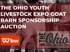 The Ohio Youth Livestock Expo Goat Barn Sponsorship Auction