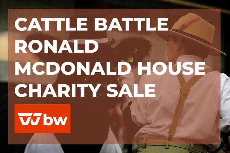 Cattle Battle Ronald McDonald House Online Charity Sale - Ohio