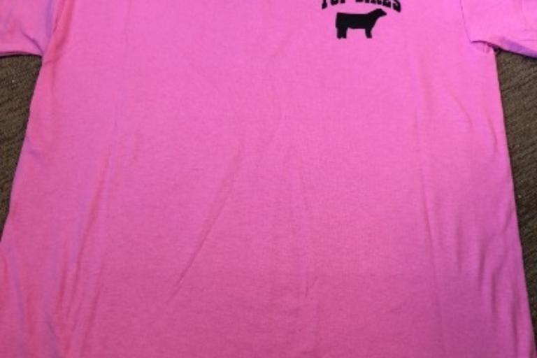 Top Sires Pink T Shirt